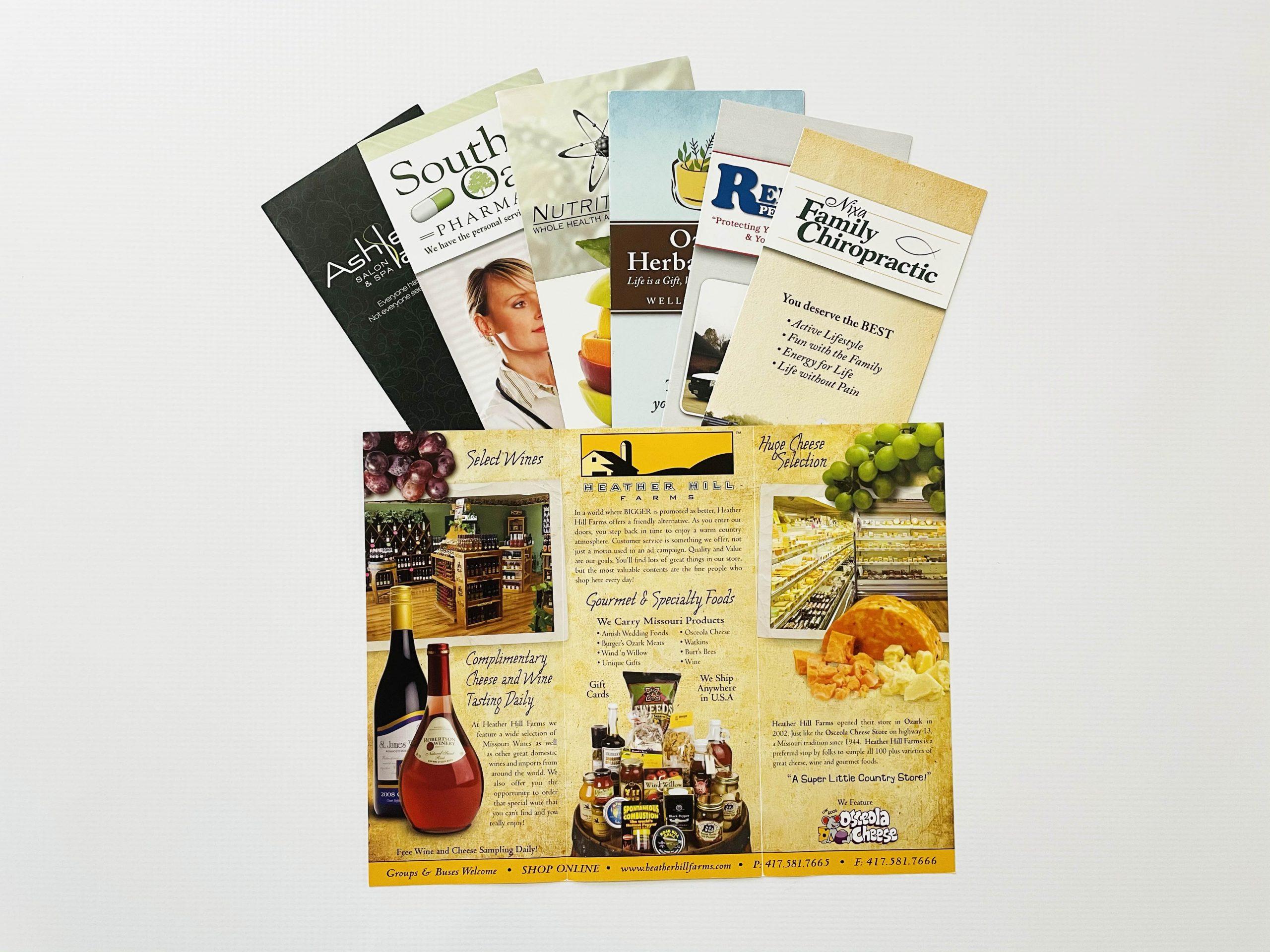 Printed Tri-Folds