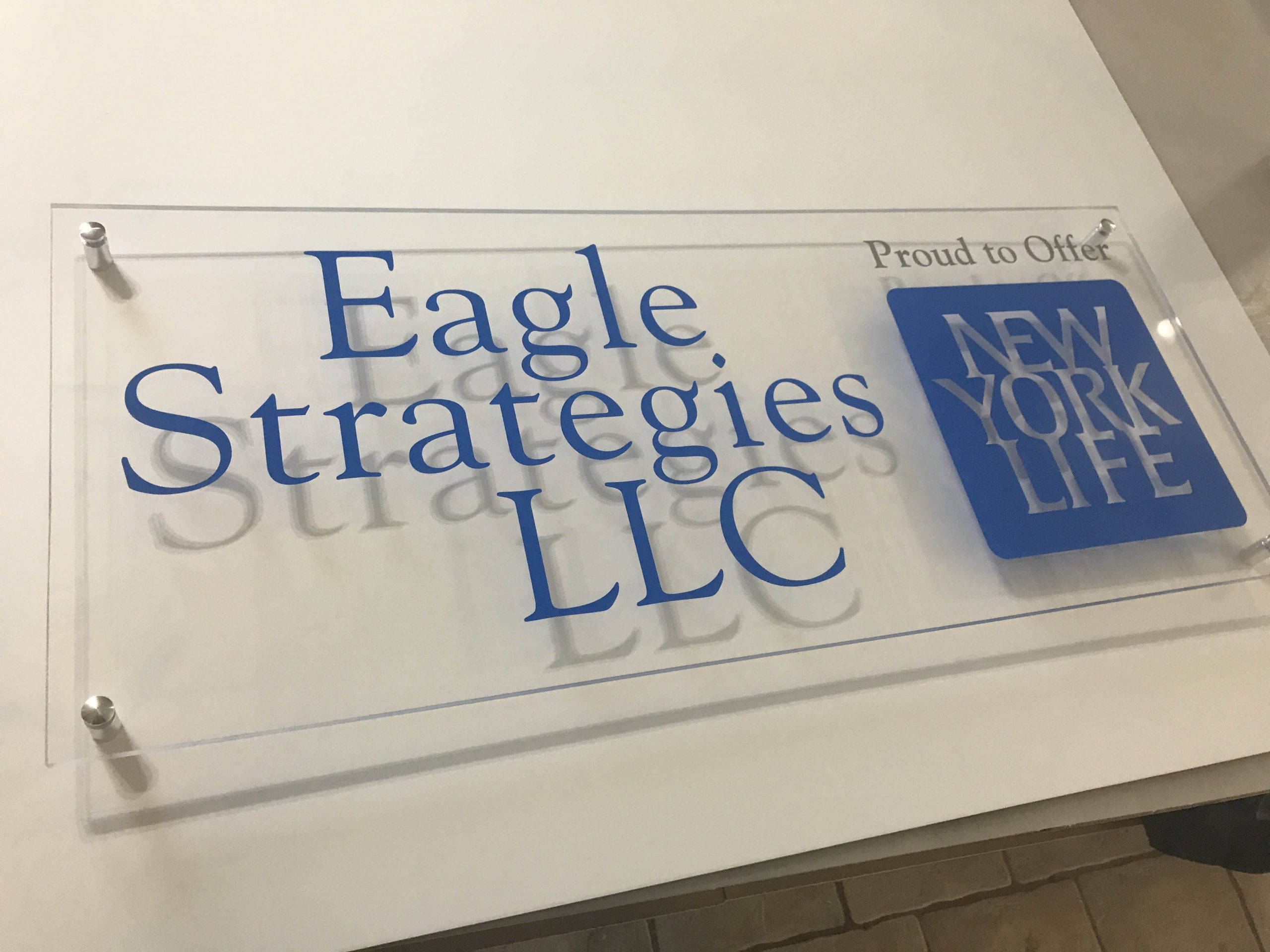 Eagle Strategies Plexi with Stand Offs